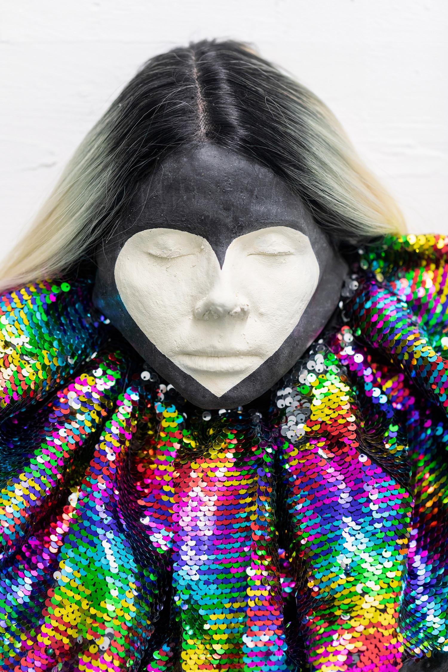 Clown (detail), 2020 — © Manon Wertenbroek